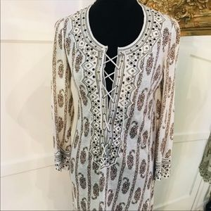 Isabel Marant beaded lace tunic 38